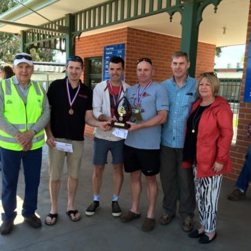 Darren wins Mary Tams Memorial Handicap