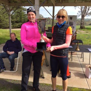 Tamara wins Angelo's Memorial Race