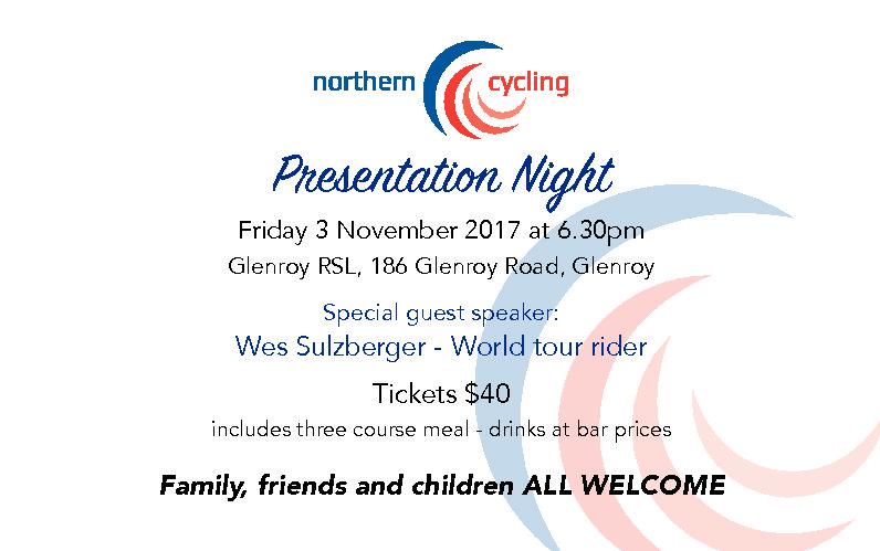 Presentation Night (Adult Ticket)