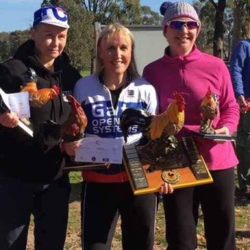 Meredith wins Chooka's Wheelrace