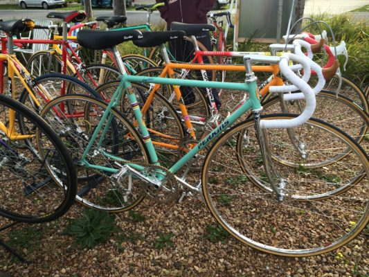 Vintage Steel Bike race and show