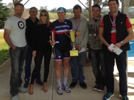 Kevin wins Angelo's Memorial Race